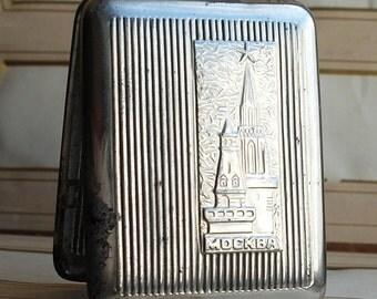 vintage metal cigarette case, home decor, accessories, coolvintage, collectibles, ornate, gorgeous, metal box,  Apr 07