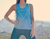 WATER alchemy symbol tank // yoga tank top // motivational tank // zodiac tank
