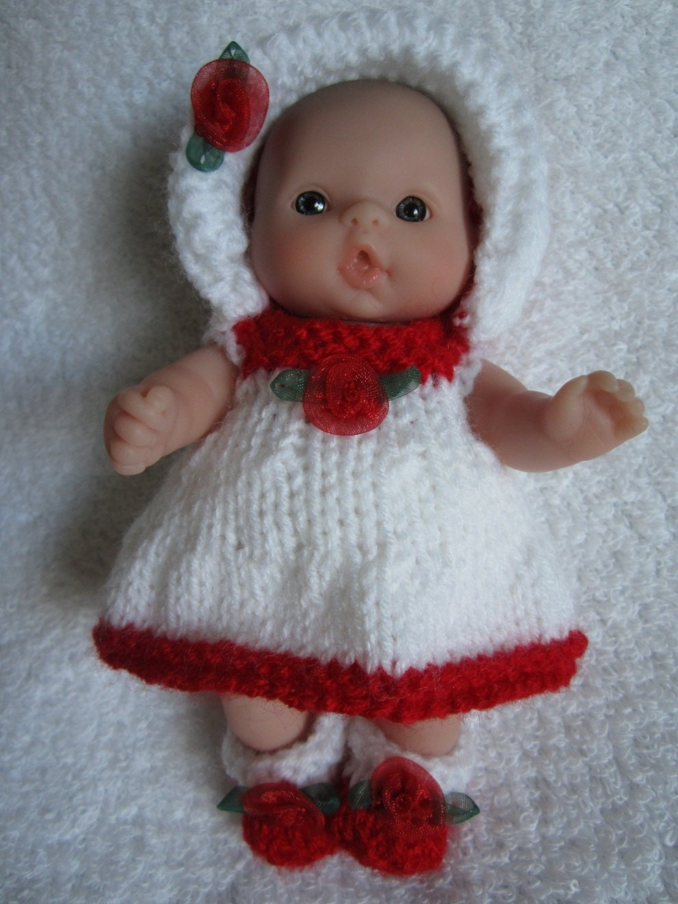 Knitting Baby Doll : Knitting pattern pdf summertime baby doll dress set for by