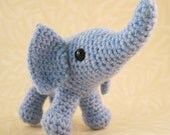 Baby Elephant Amigurumi Pattern PDF