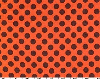 Pumpkin Ta Dot from Michael Miller 1/2 yard