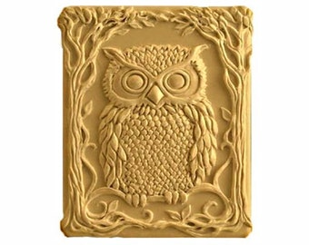 Owl Soap - Vegan Soaps -  Decorative Soaps  -  Organic  Soaps -  Glycerin Soaps - Natural Soap - Moisturizing -  Essential Oil Sandalwood