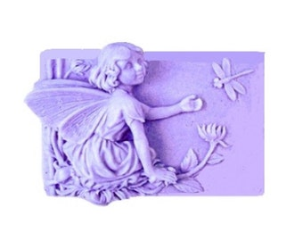 Fairy Soap - Vegan Soaps -  Decorative Soap - Organic Soap  - Glycerin Soap -  Moisturizing - Essential Oil Lavender