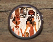 Egyptian goddess ISIS tie tack or ring or pendant or pin or cuff links