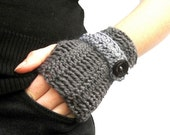 PDF Crochet Patterns - choose two fingerless mittens patterns