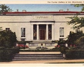 Vintage New Hampshire Postcard - Currier Gallery of Art, Manchester (Unused)