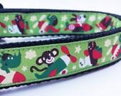 Travelin' Dog - Dog Collar / Pet Accessories / Adjustable / Handmade