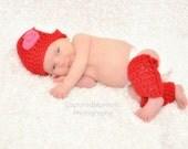 Adorable Newborn Valentine Photo Prop Set
