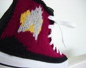 Star Trek Knit Chucks