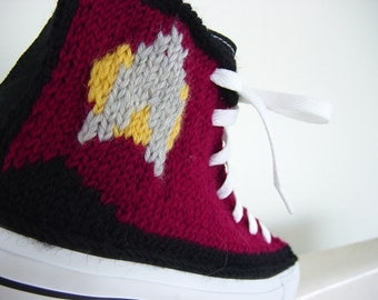 Star Trek Knit Chucks