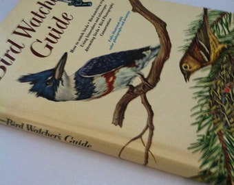 Vintage 1960's Bird Watcher's Guide
