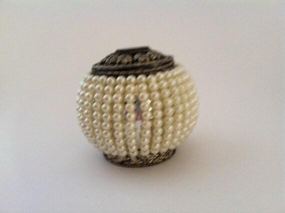 Vintage Pearl Box