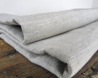 Solid Oatmeal  linen - Linen by the yard - Perfect for bedding, pillowcases, interior design, home furnishings, apparelFree Shipping to USA