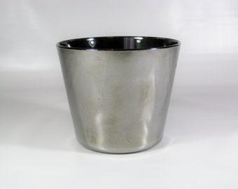 Mid Century Mirrored Ice Bucket