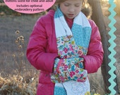 My First Scarf and Mittens A Learning to Sew PDF Sewing Pattern
