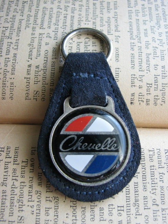 Vintage Chevrolet Chevelle Keychain 1960s 1970s By