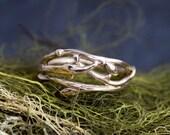 Woodland branch twig wedding band or organic engagement ring, twig wedding band, branch ring, organic wedding, natural engagement ring