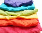 Silkies Rainbow Scarf Playset LARGE - Montessori and Waldorf Inspired Open Ended Play Silks