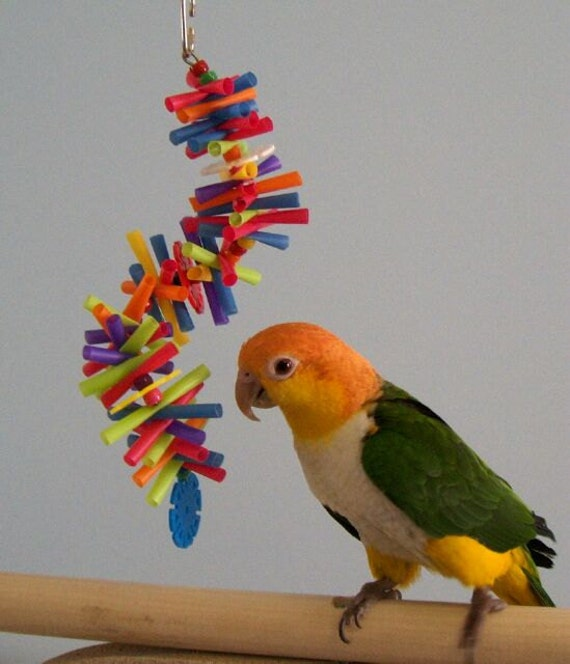 Small Toy Parrots : Small bird toy straw toys parrot sm silly