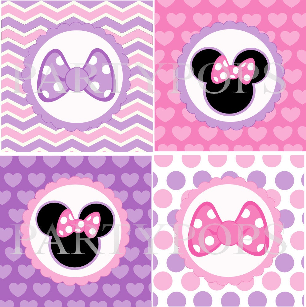 minnie mouse party printables pdf