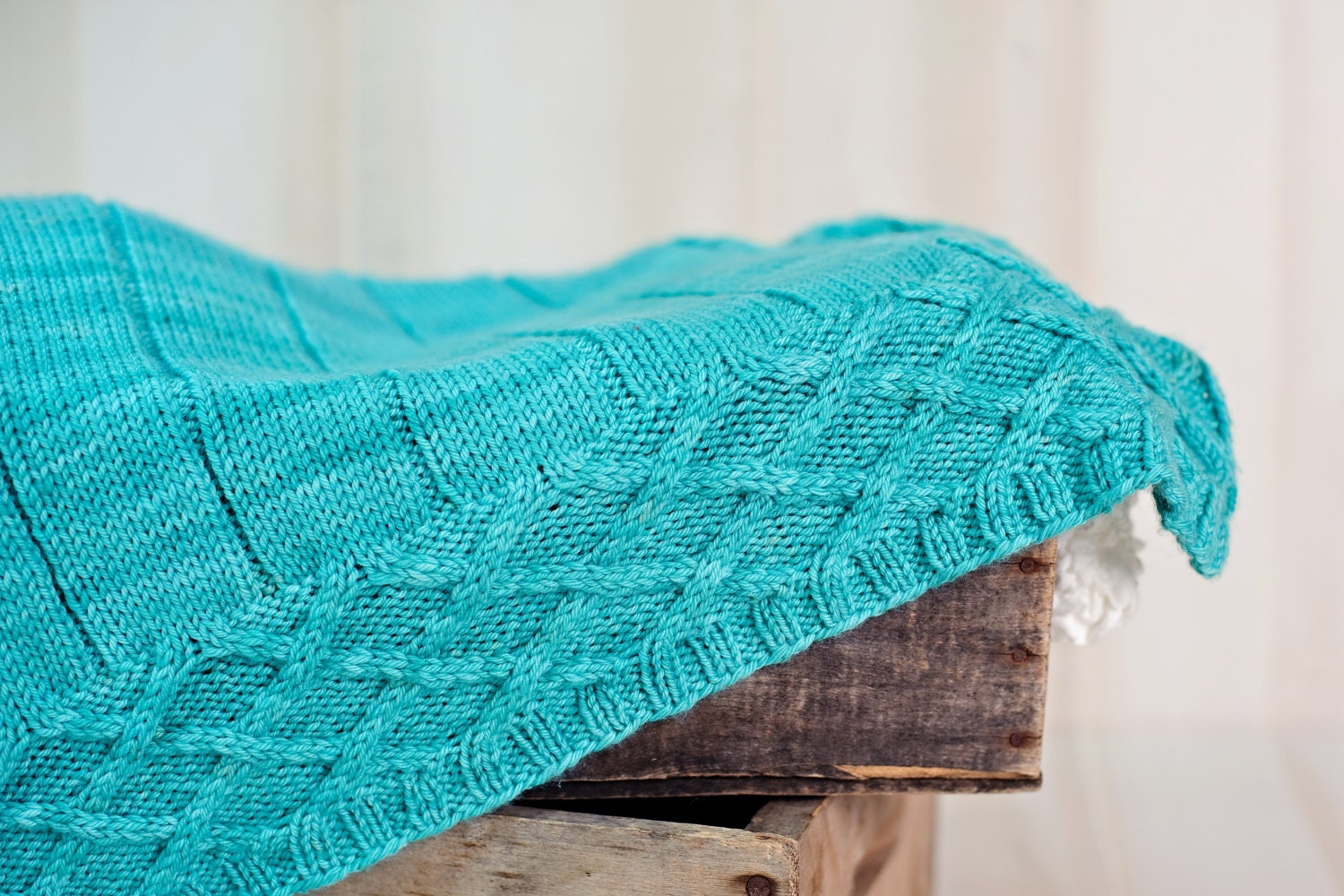 Digital Knitting Patterns : make your own Gramps Baby Blanket (DIGITAL KNITTING PATTERN) from MakeTotTopp...