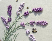 Lavender in the Breeze Pattern and Print kit
