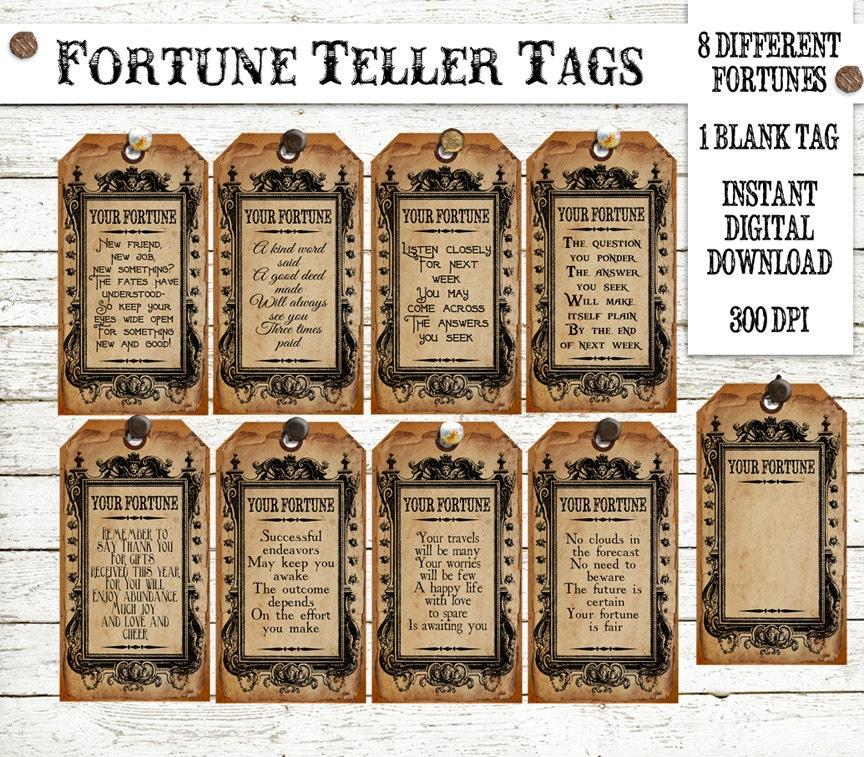 Halloween Fortunes
