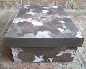 Wood Memory Keepsake Box