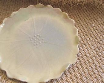 50% off -  Serving Plate: Handmade