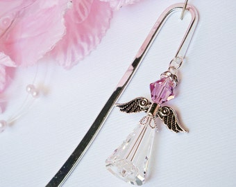 Crystal Angel Bookmark Amethyst Angel Bookmarker