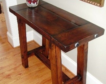 Maple Table 38 Inch Wide Old World Style