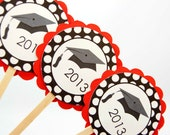 Graduation Cupcake Toppers / Food Picks