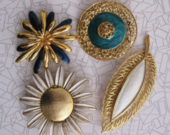 Vintage Brooches, Instant Collection