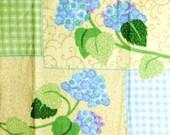 Crochet Top Towel - Double Towel - Hydrangea