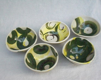 Mini Bowls - Set of FIVE