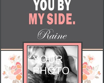 Custom Bridesmaid Photo Wine Label - Will you be my Bridesmaid - Personalized Labels (8)