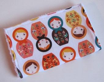 Baby Girl Burp Cloths-Little Kukla-Ready To Ship