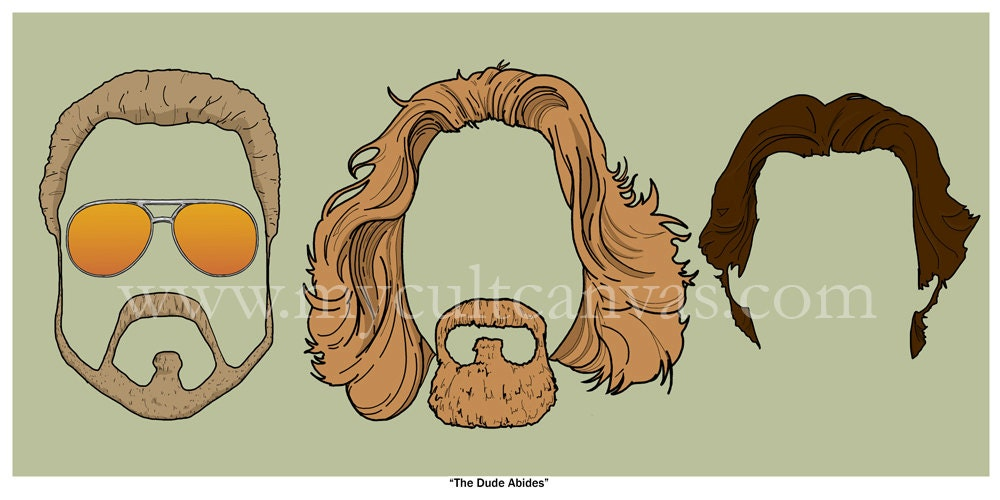 Limited Edition Print The Big Lebowski The Dude Prints//Posters