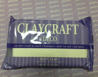 Air Dry Soft Clay for Flower and Figurine Making