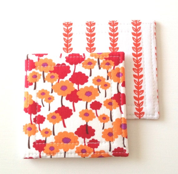 Coasters   Poppies