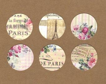 Stickers, Flea Market Style, Paris & Roses