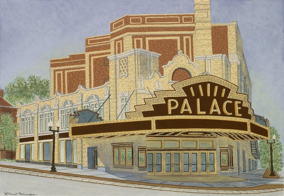 Palace Theatre Fine Art Print Movie Theater Albany New