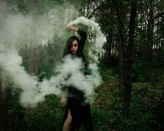 Ghost Siren, a 4x6 mystical and dark print