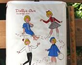Doll Case, Dollys Own wardrobe vinyl Case like Penny Brite