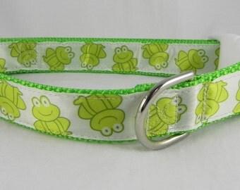 Frog Dog Collar