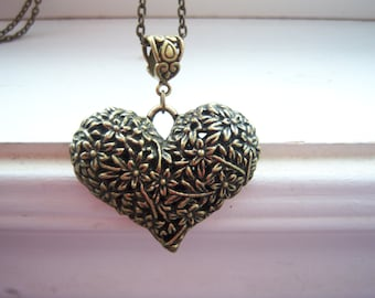 Heart Necklace - Free Gift With Purchase