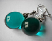 Murano Effetre Glass Drops Earring
