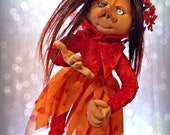 OOAK Art Doll Fairy - Whim