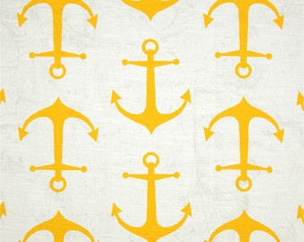 SALE - Premier Prints Fabric Anchors in Corn Yellow Slub