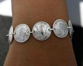 Vintage Coin Bracelet Unisex Jewelry